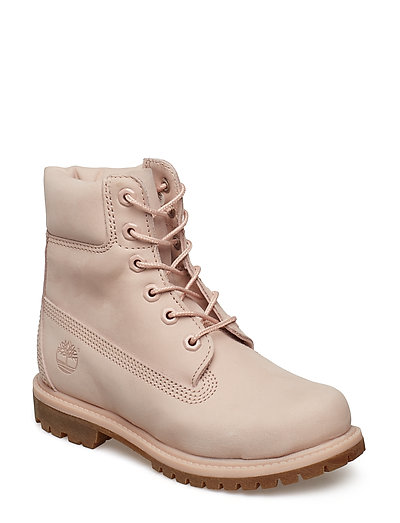6in Premium Boot - W Shoes Boots Ankle Boots Ankle Boots Flat Heel Pink TIMBERLAND