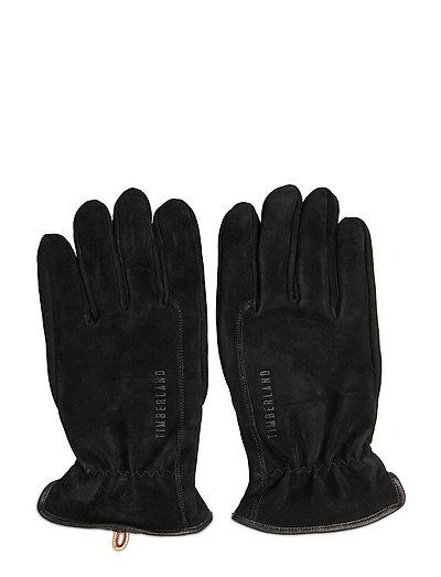 Workwear Inspired Nubuck Leather Glove Handschuhe Schwarz TIMBERLAND