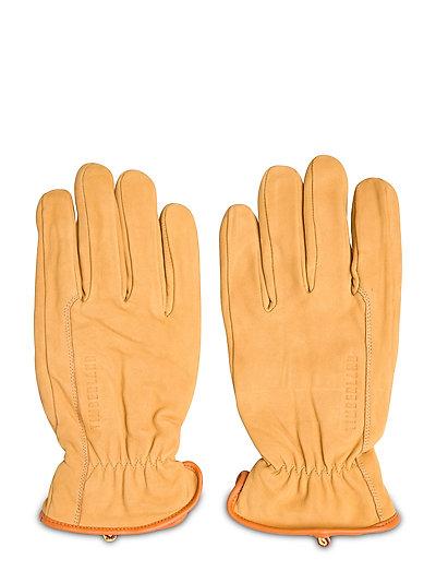 Workwear Inspired Nubuck Leather Glove Handschuhe Gelb TIMBERLAND