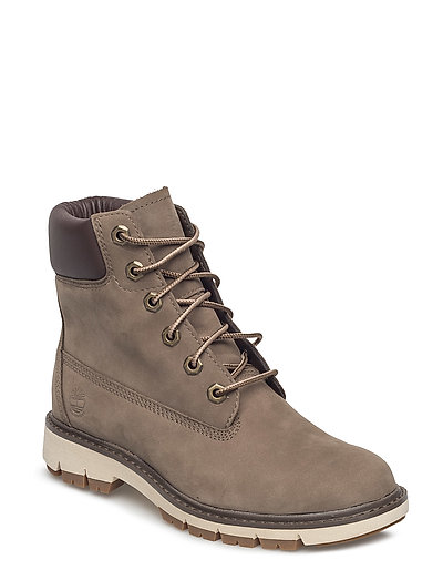Lucia Way 6in Boot Wp Shoes Boots Ankle Boots Ankle Boot - Flat Beige TIMBERLAND