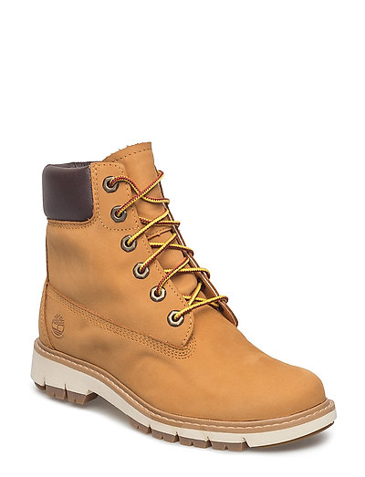TIMBERLAND Lucia Way 6in Wp Boot Shoes Boots Ankle Boots Ankle Boots Flat Heel Braun TIMBERLAND
