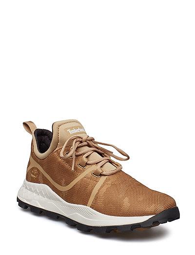 Brooklyn Fabric Oxford Niedrige Sneaker Braun TIMBERLAND