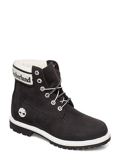 TIMBERLAND 6in Premium Boot L/F- W Shoes Boots Ankle Boots Ankle Boots Flat Heel Schwarz TIMBERLAND
