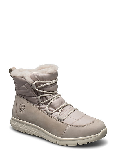 Boltero Winter Bt Lt Gry Shoes Boots Ankle Boots Ankle Boots Flat Heel Grau TIMBERLAND