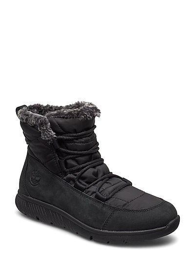 Boltero Winter Bt Blk Shoes Boots Ankle Boots Ankle Boots Flat Heel Schwarz TIMBERLAND