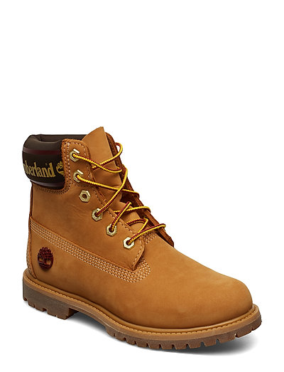 TIMBERLAND 6in Premium Boot L/F- W Shoes Boots Ankle Boots Ankle Boots Flat Heel Braun TIMBERLAND