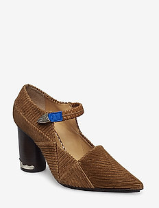 TOGA PULLA-SHOES - BROWN
