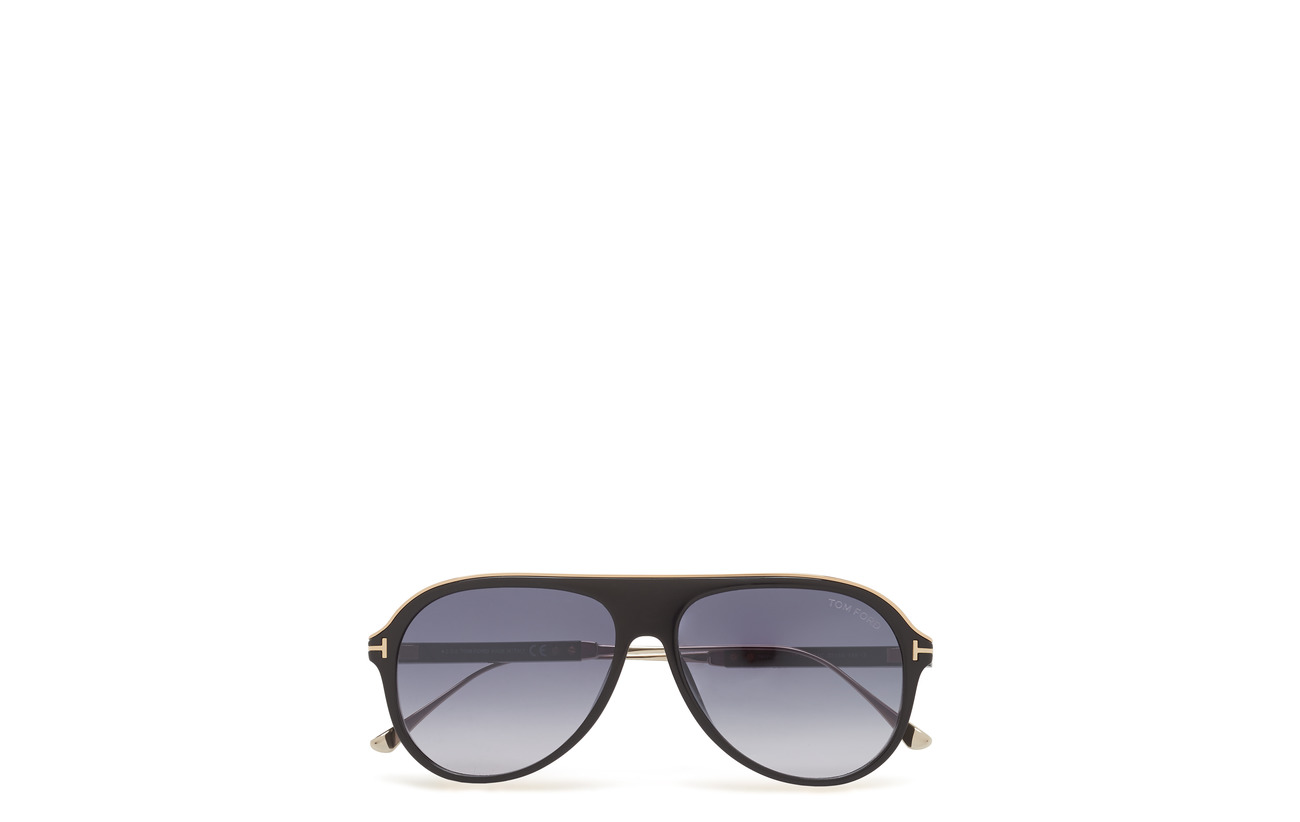 f842034e641ec Tom Ford Nicholai-02 (Shiny Black) (3440 kr) - Tom Ford Sunglasses ...
