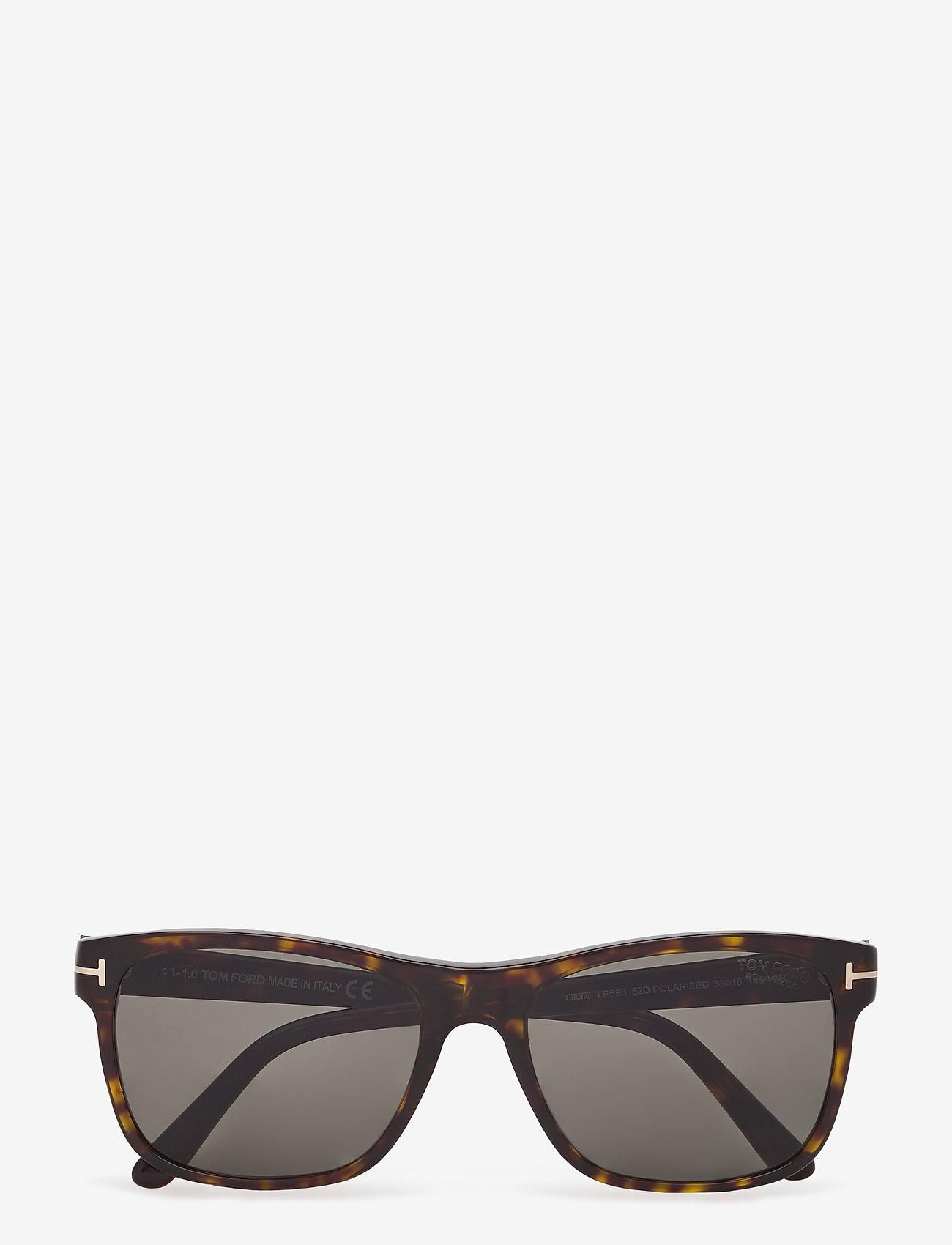 Tom Ford Sunglasses - Tom Ford GIULIO - d-shaped - dark havana - 0