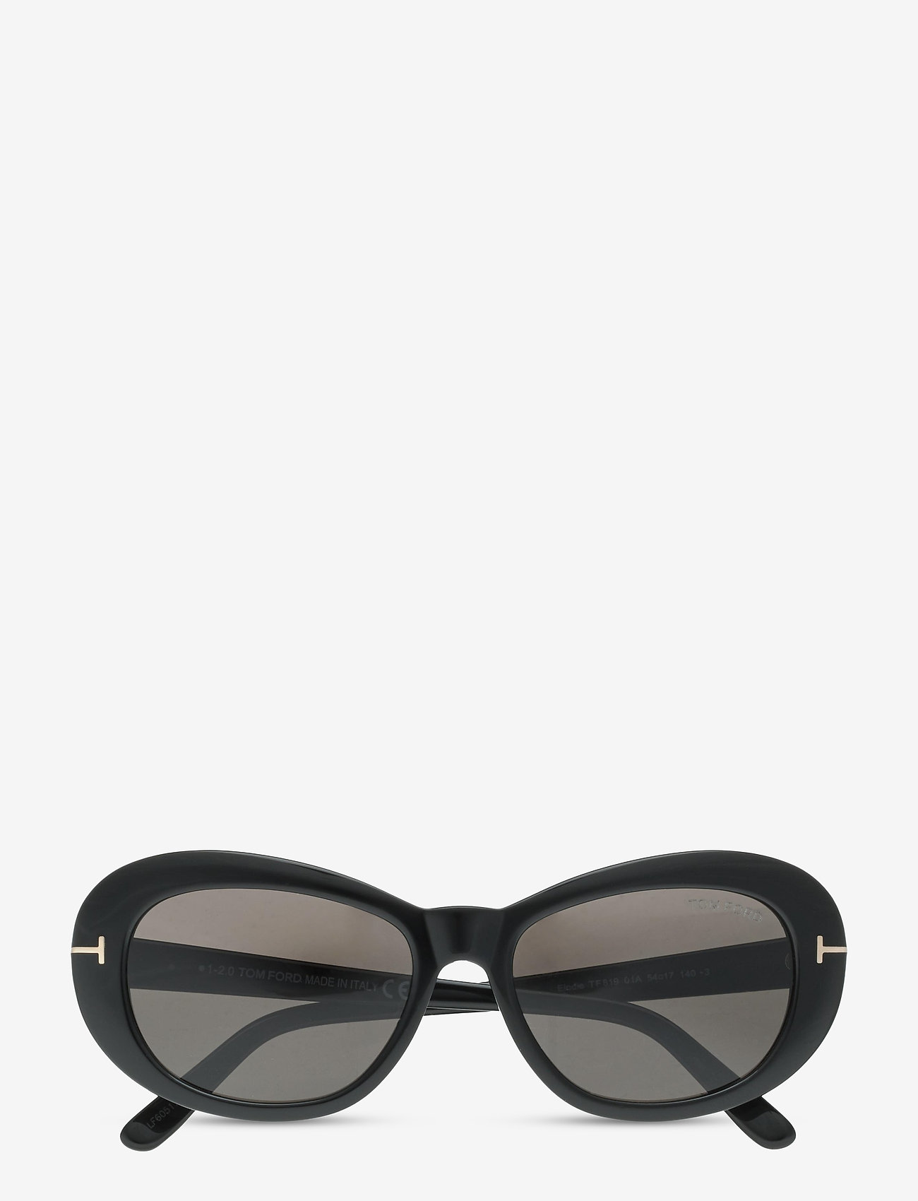Tom Ford Sunglasses - ELODIE - rond model - shiny black - 0