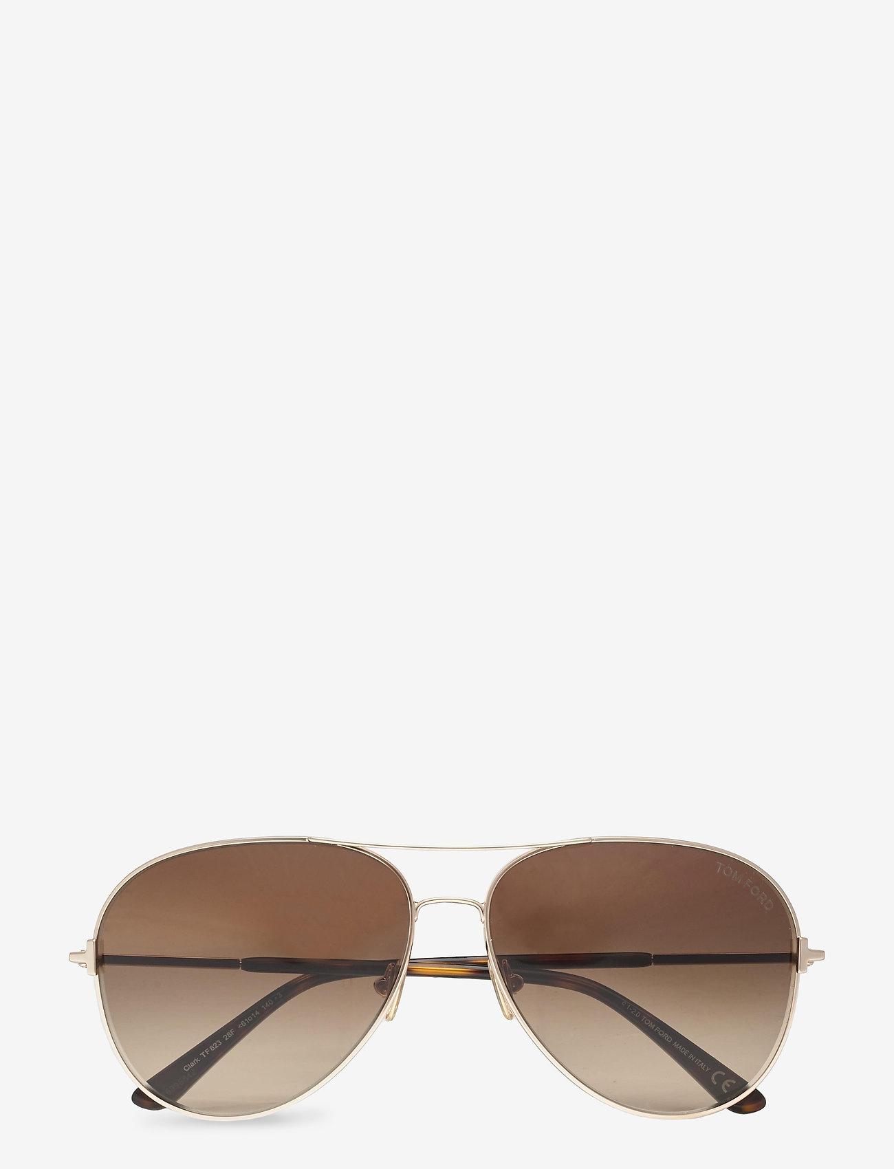 Tom Ford Sunglasses - CLARK - piloten zonnebril - shiny rose gold - 0
