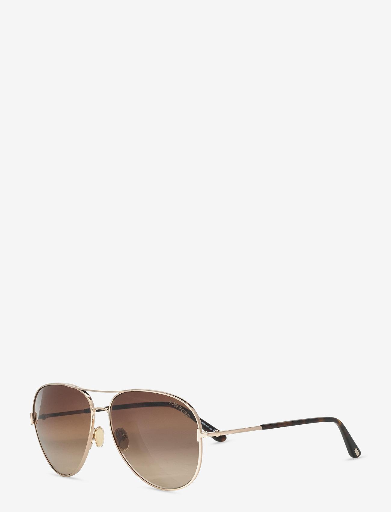 Tom Ford Sunglasses - CLARK - piloten zonnebril - shiny rose gold - 1