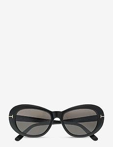 ELODIE - round frame - shiny black