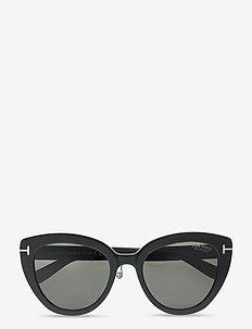Izzi - cat-eye - shiny black