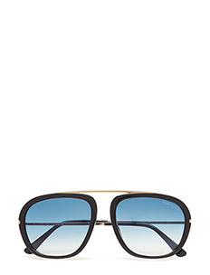 Tom Ford Johnson - 01P - SHINY BLACK / GRADIENT GREEN