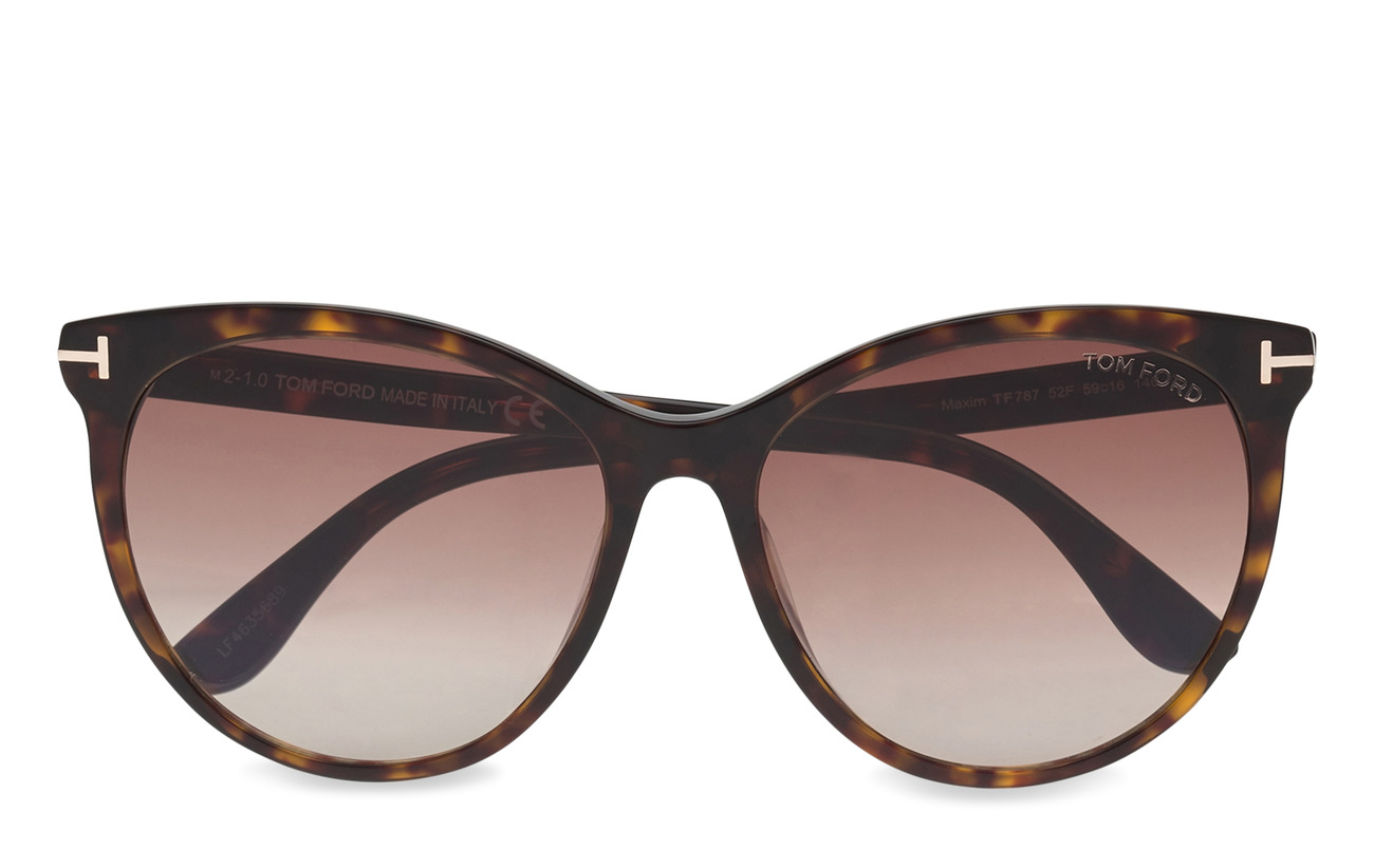 Tom Ford Sunglasses Tom Ford Maxim Dark Havana 181 50 Large Selection Of Outlet Styles Booztlet Com