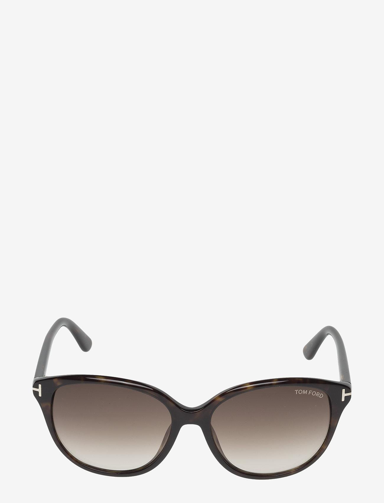 Tom Ford Sunglasses - Tom Ford KARMEN - d formas - 52f -dark havana / gradient brown - 1