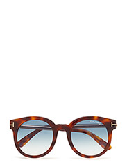 Tom Ford Janina - 52P DARK HAVANA / GRADIENT GREEN