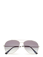 Tom Ford Indiana - 18B SHINY RHODIUM / GRADIENT SMOKE