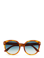 Tom Ford Philippa - 53W BLONDE HAVANA / GRADIENT BLUE