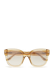 Tom Ford Beatrix-02 - SHINY LIGHT BROWN