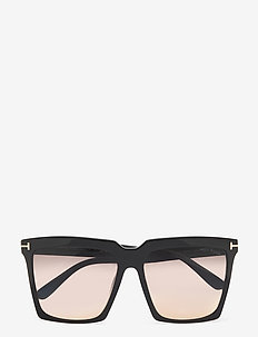 Tom Ford FT0764 - firkantet stel - shiny black