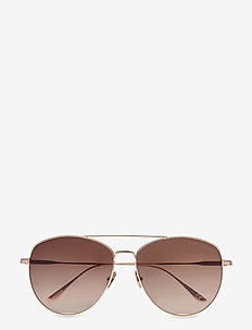 Tom Ford MILLA - round frame - shiny rose gold