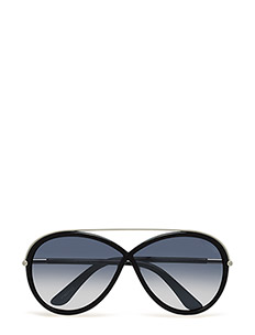 Tom Ford Tamara - 01C - SHINY BLACK / SMOKE MIRROR