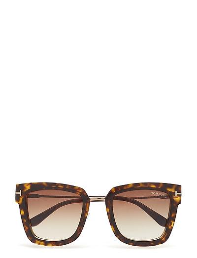 af91841306b Tom Ford Lara-02 (Dark Havana) (455 €) - Tom Ford Sunglasses ...