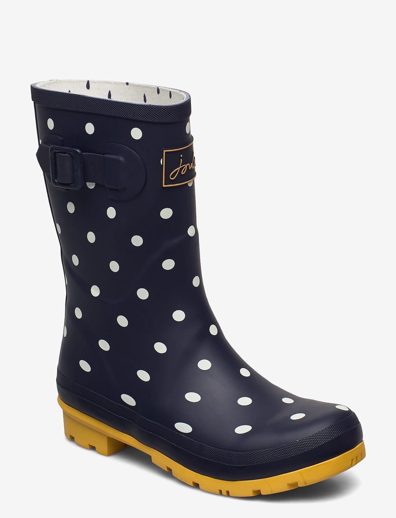 Joules - Molly Welly - kalosze - french navy spot - 1