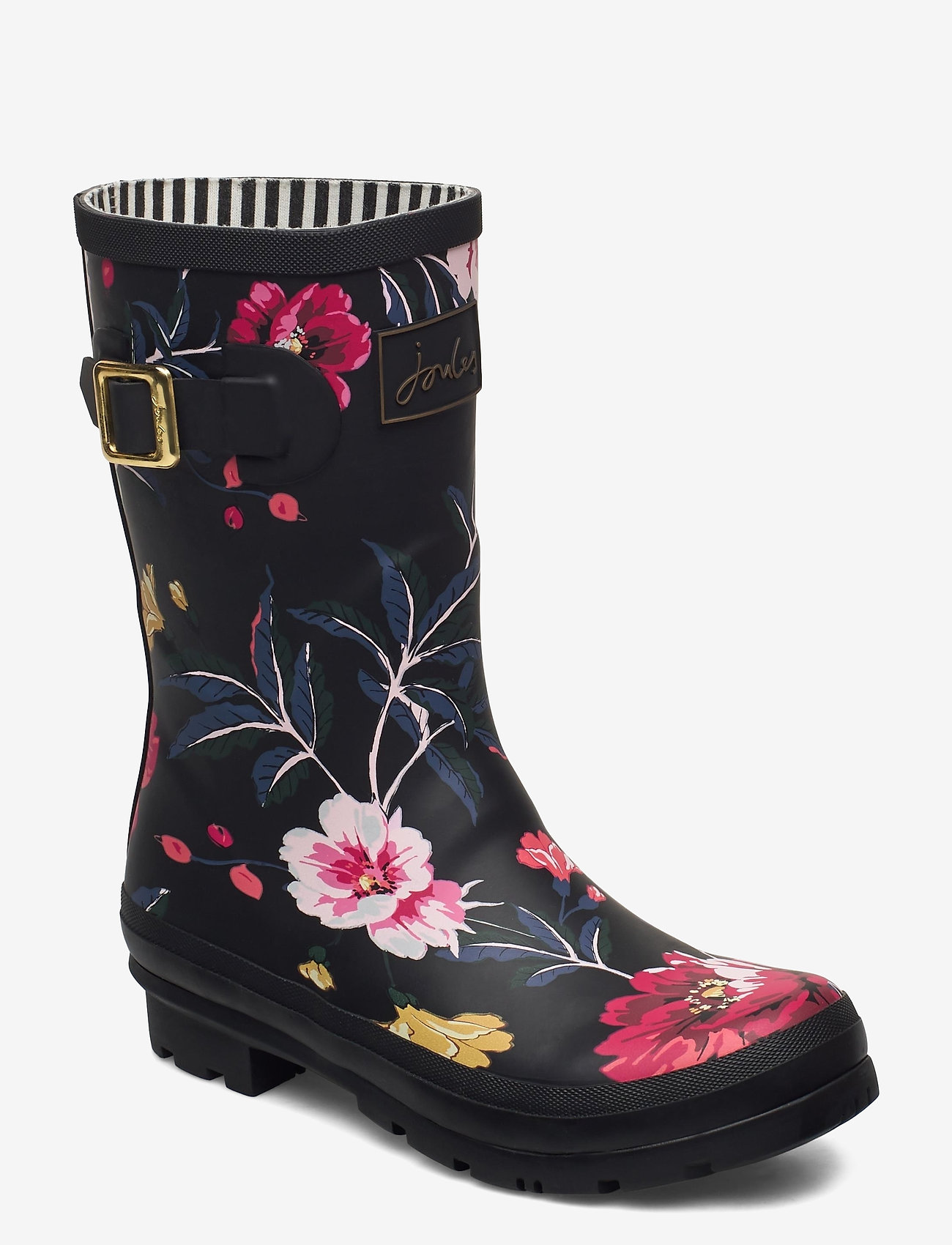 Joules - Molly Welly - kalosze - black floral - 0