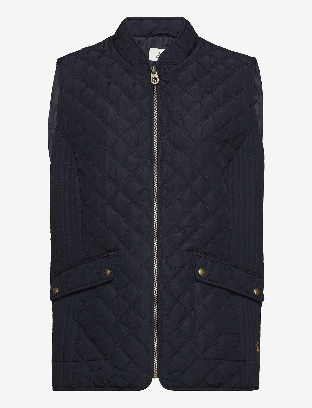 Joules - Minx - puffer vests - navy - 0