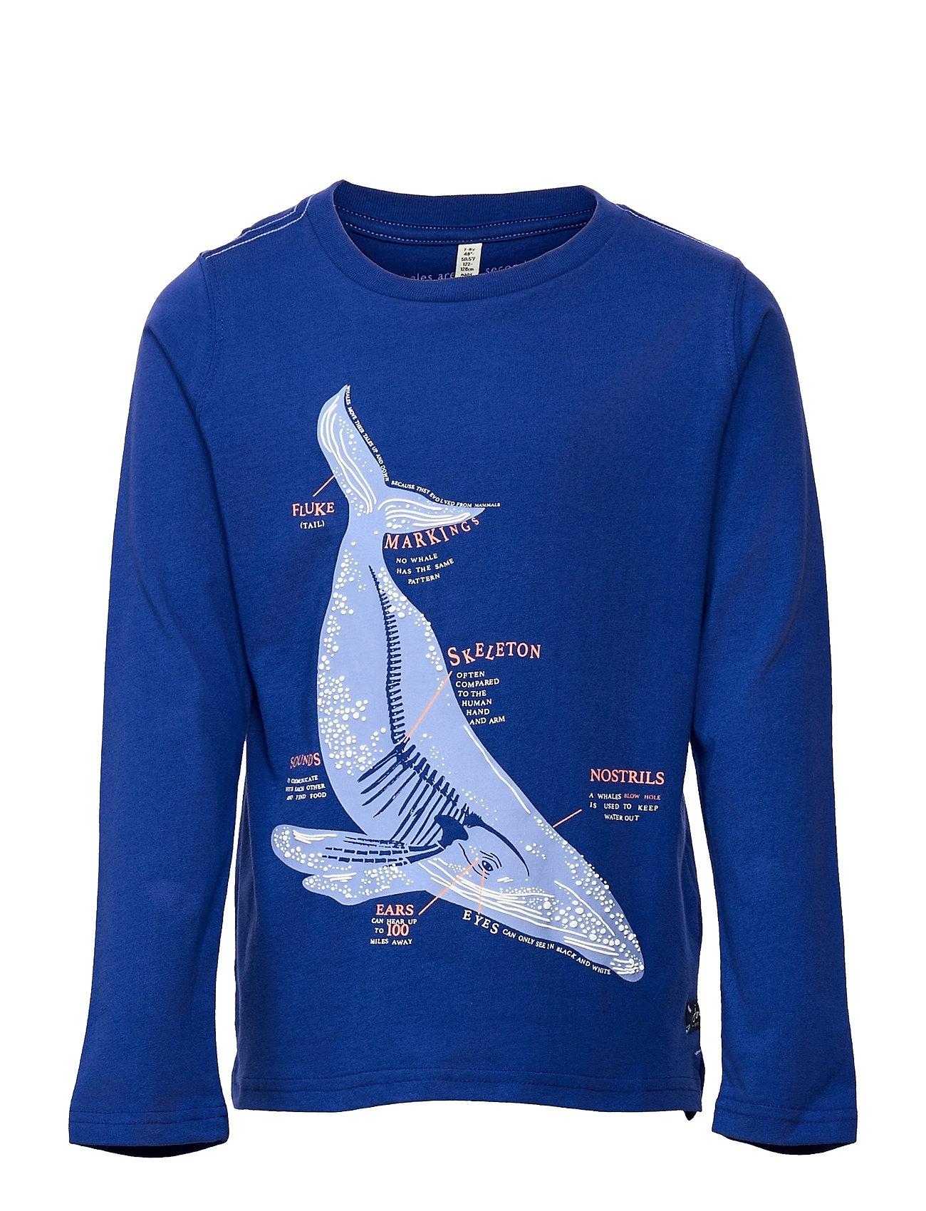 Finlay Langærmet T-shirt Blå Joules