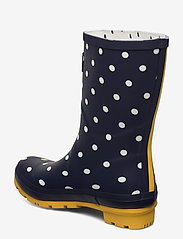 Joules - Molly Welly - kalosze - french navy spot - 2