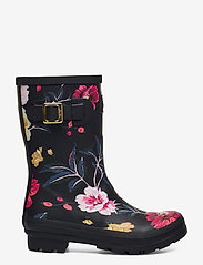 Joules - Molly Welly - kalosze - black floral - 1