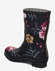 Joules - Molly Welly - kalosze - black floral - 2