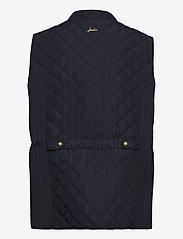 Joules - Minx - puffer vests - navy - 1