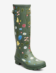 Welly Print - rain boots - grnfloral