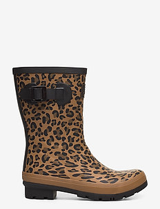 Molly Welly - gummistiefel - tanleopard