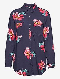 Elvina - long-sleeved shirts - navpeony