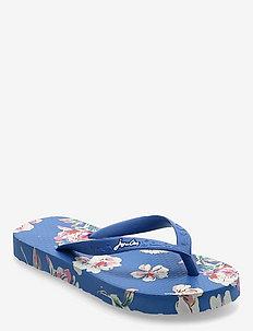 Jnr Flip Flop - flip flops & watershoes - bluefloral