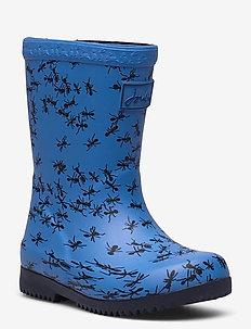 Baby Welly Print - uforede gummistøvler - blueants