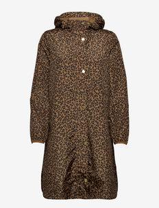 Waybridge - parkas - tan leopard