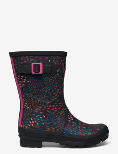 Molly Welly - gummistiefel - black speckle
