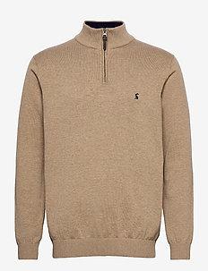 Hillside - half zip-tröjor - camelmarl