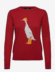 Miranda - pullover - red duck