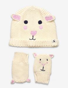 Chummy Set - hue & vanter sæt - sheep