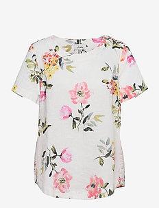 Dina - short-sleeved blouses - crmfloral