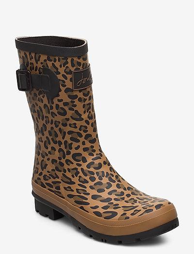 Molly Welly - gummistøvler - tanleopard