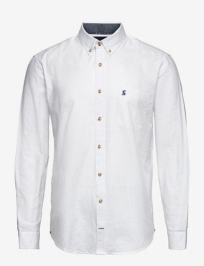 Oxford Shirt - basic-hemden - white
